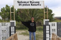 Selamat datang di Pulau Kenawa.