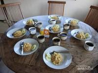 Nasi goreng khas kediri siap terhidang di resto Selo Pannggung Resort.
