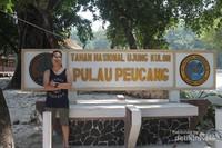 Pulau Peucang di Taman Nasional Ujung Kulon.