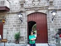 Pintu masuk Museum Casa Manila