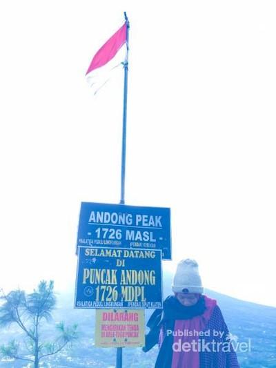 Keindahan Tiada Dua dari Puncak Gunung Andong