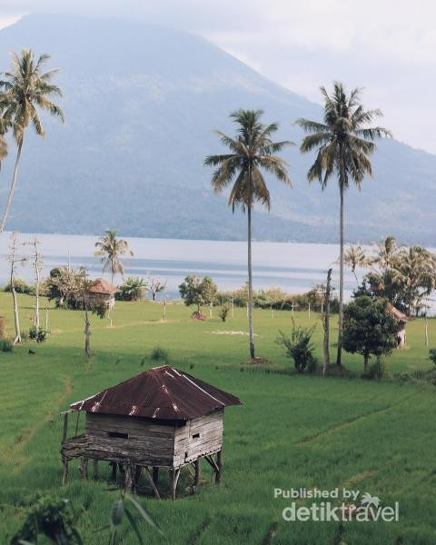 Pemandangan Gunung Seminung.foto by @victoricko