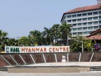 HAGL Myanmar Centre yang ada di luar area Myanmar Plaza