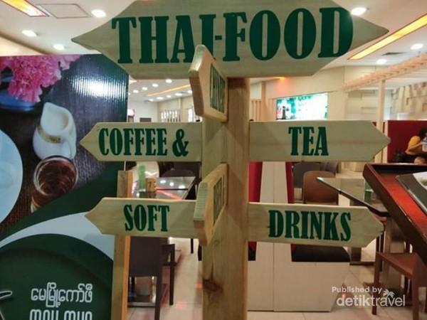 Ada thaifood di Myanmar Plaza