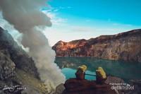 Kawah Ijen, Keindahan yang menyimpan berjuta kekayaan alam, Banyuwangi, Indonesia