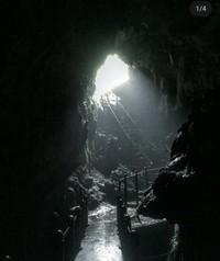 Keindahan Goa Kiskendo yang terletak di Kabupaten Kulon Progo