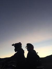 Langit Gunung Bromo setelah sunrise