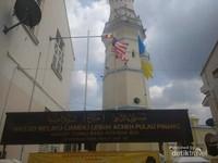 Sebuah masjid peninggalan masyarakat Aceh di Pulau Penang abad ke-19.
