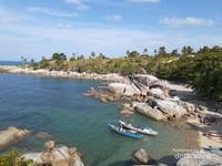 Butuh Vitamin Sea? Ini Potret Pantai Turun Aban di Bangka