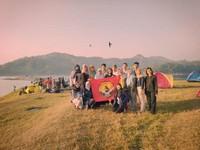 Salah satu kegiatan Camping di Waduk Sermo