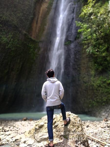 Air Terjun Perawan Sidoharjo di Kulonprogo.