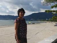 Motoran ke Pantai Patong Phuket Asyik Juga