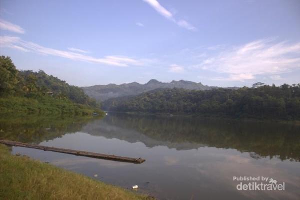 Waduk sermo salah satu tempat destinasi wisata air yang ada di yogyakarta