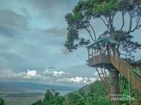 Pemandangan dari bukit khayangan (Warung Bang Joey)
