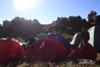 Pos 2 gunung Merbabu lalui jalur Wekas
