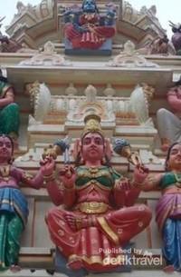 Salah satu foto bagian detail kuil.
