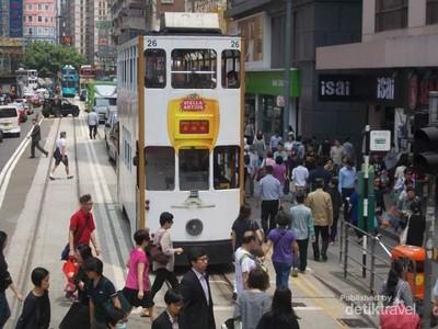 Mungkin Ini Jalan Paling Sibuk di Hong Kong