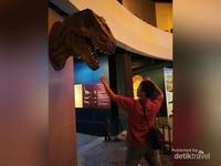 Kepala Tyrannosaurus atau T-rex