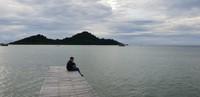 Eksotisme Pantai Lhokseudu di Desa Layeun, Leupung, Kabupaten Aceh Besar