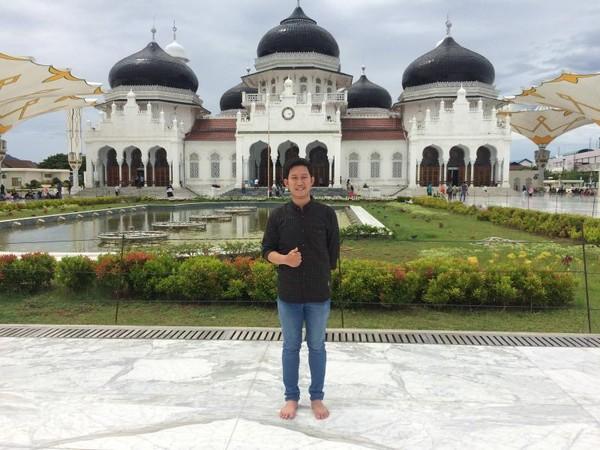 Kemegahan Masjid Baiturrahman
