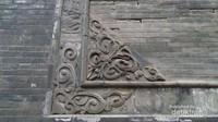 Motif ukiran di salah satu masjid Raya Xian, mirip motif ukiran di Minangkabau