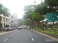 Potret Jalan Victoria.