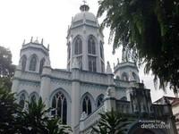 Sebuah Gereja yang ada di Jalan Victoria.