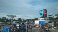 Suasana Sore hari di dermaga Bom Kalianda.