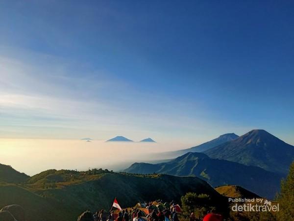 Lautan Awan Gunung Prau