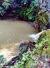 Air terjun ketiga dari sungai Pampang.