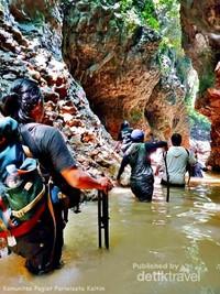 Mari berwisata ke Desa Budaya Pampang, Samarinda.