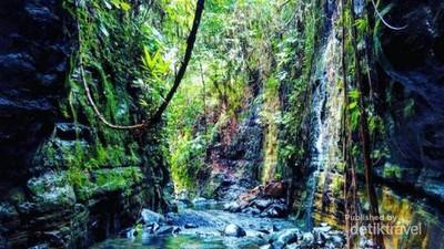 Curug Putri Carita, Little Grand Canyon dari Banten