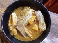 Lezatnya ikan masak kuning.
