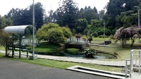 Taman yang cantik dan nyaman