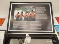 Salah satu foto laskar pelangi di Museum Kata.