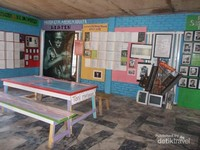Salah satu ruang yang disediakan untuk bersantai bagi para pengunjung.