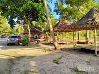 Pondokan yang disediakan pengelola untuk wisatawan
