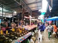 Blok penjual daging sapi dan ayam halal