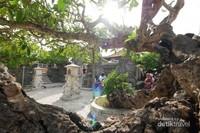 Suasana di Pura Uluwatu, Bali.
