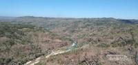 Panorama dari Kebun Buah Mangunan