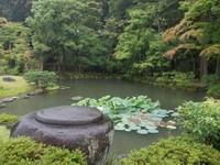 Mata tak jemu menikmati keindahaan suasana Isuien Garden.
