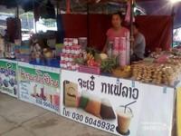Foto: Serunya Menjelajah Pasar Sore Luang Prabang di Laos