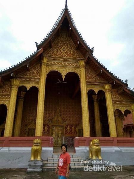 Bangunan utama Wat Senshoukaram.