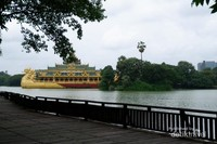 Kandawgyi Lake dan Shin Upagot Temple