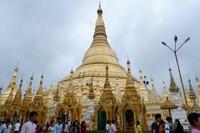 Shwedagon Pagoda (salah satu icon Yangon -Myanmar)