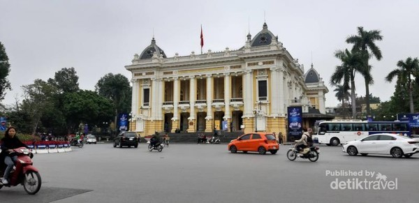 Transportasi alternatif untuk Hanoi City Tour dengan Hop On Hop Off