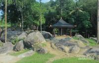 Lokasi destinasi wisata Istana Batu Korsih Majalengka