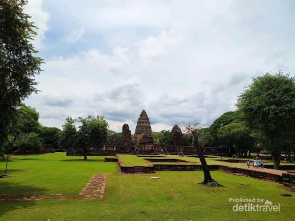 Phimai historical park bagian depan