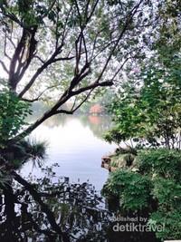 Panorama danau yang menkajubkan