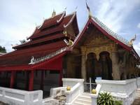 Bangunan utama kuil Vatmay Souvannapoumaram.